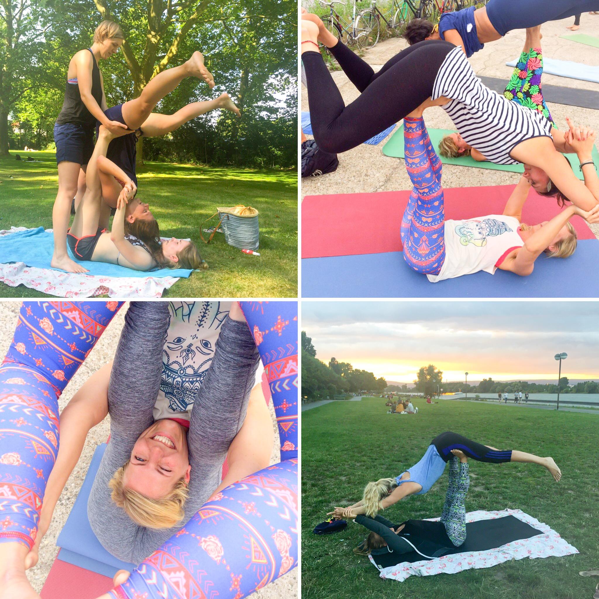 Acro Yoga Mainz