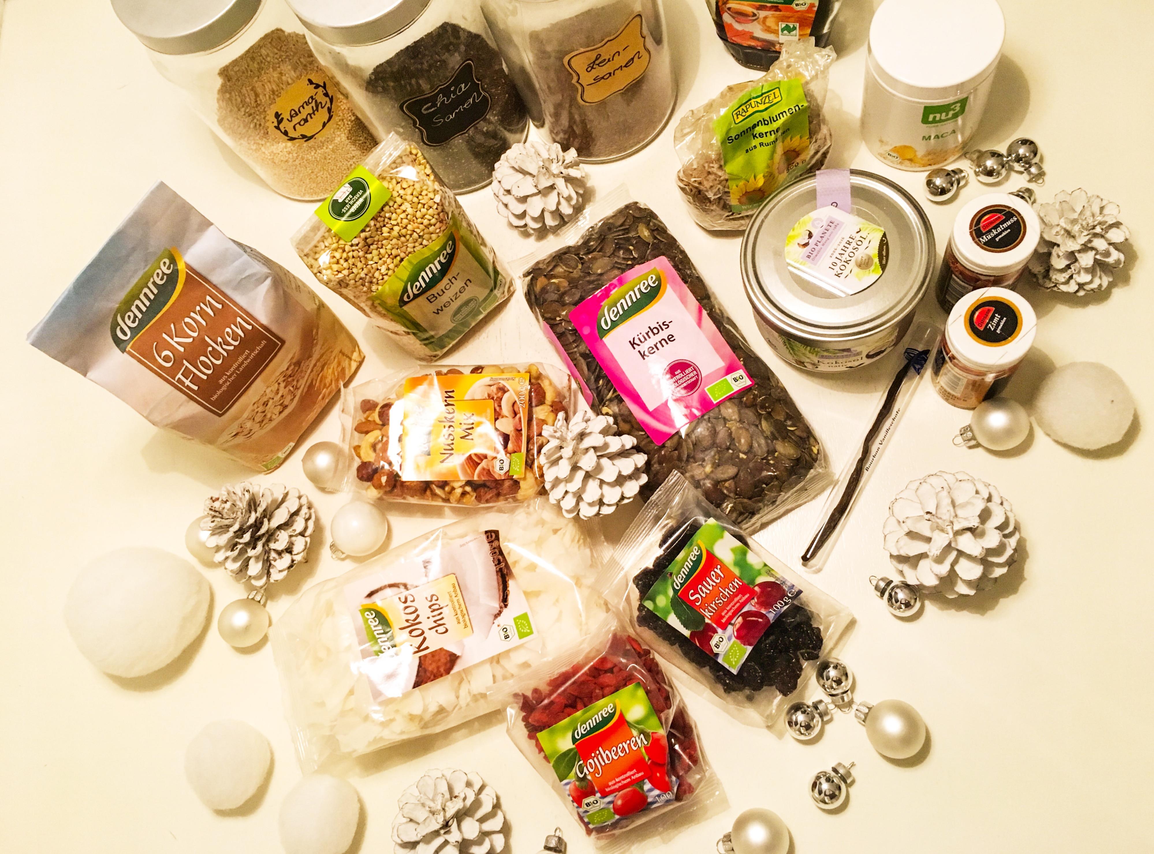 Knuspermüsli gesund Zutaten